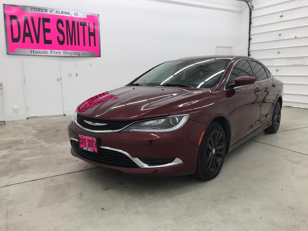 Chrysler 200 Limited >> Pre Owned 2015 Chrysler 200 Limited 4dr Sdn Fwd In Coeur D Alene