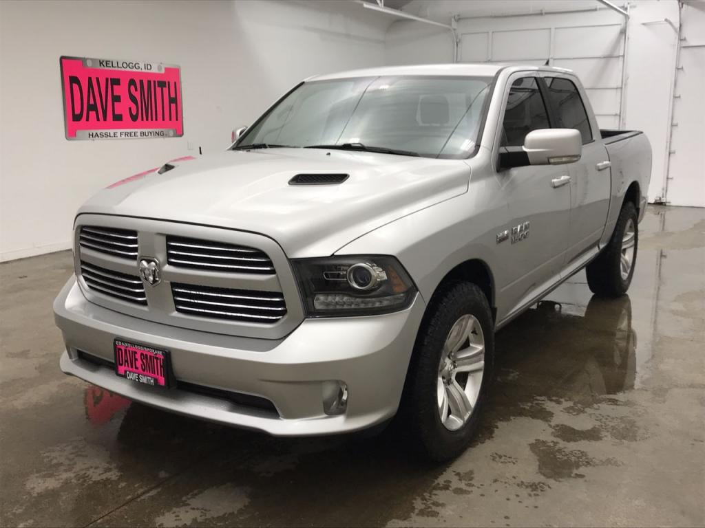 Pre-Owned 2017 Ram 1500 Sport Crew Cab Short Box