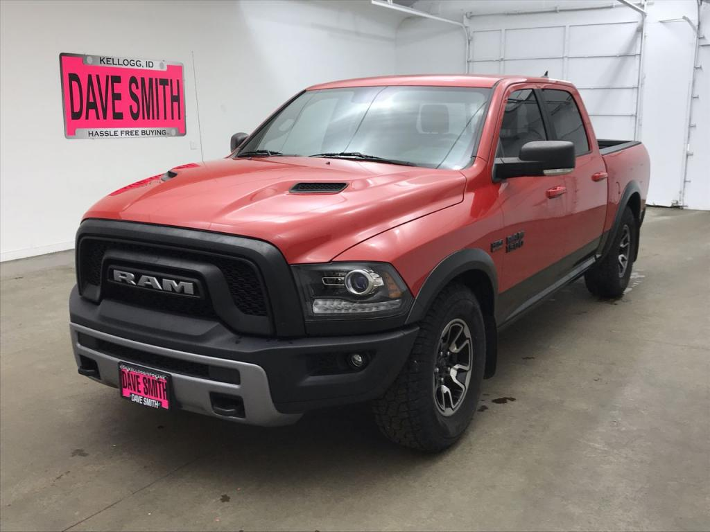 Pre-Owned 2017 Ram 1500 Rebel Crew Cab Short Box