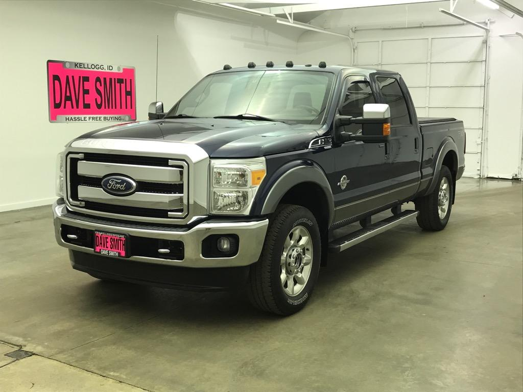 Pre-Owned 2011 Ford F-250 Super Duty Laramie Crew Cab Short Box