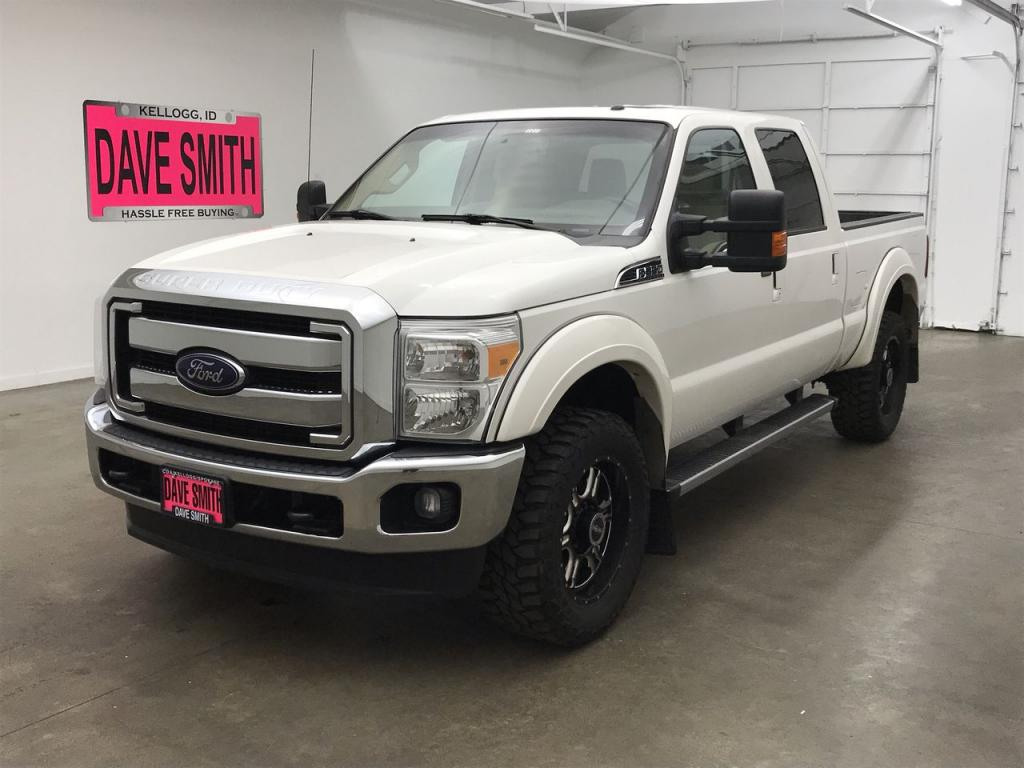 Pre-Owned 2015 Ford F-350 Super Duty Lariat Crew Cab Short Box