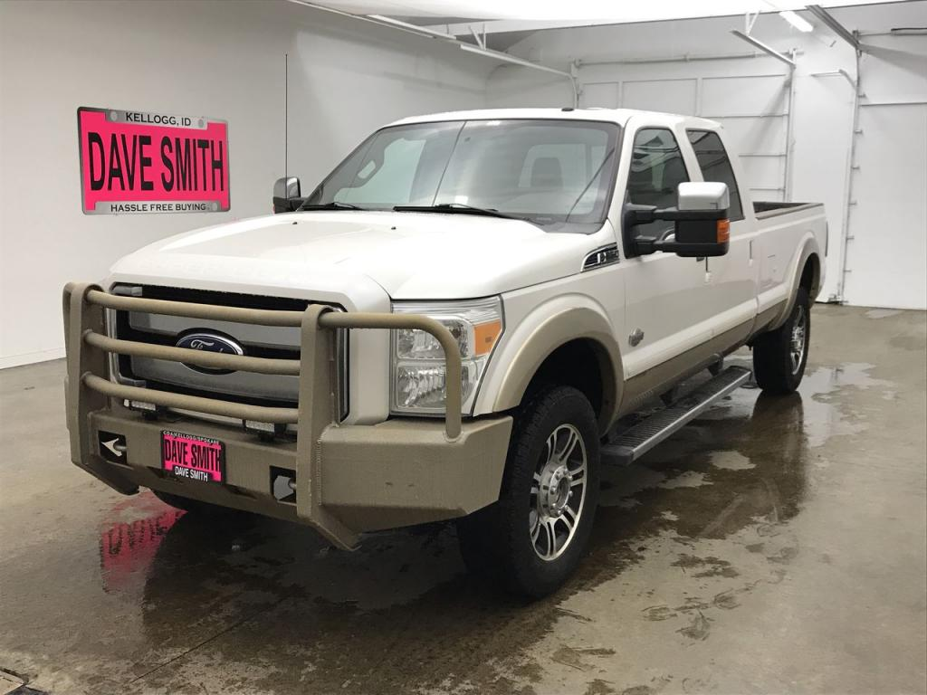 Pre-Owned 2012 Ford F-350 Super Duty King Ranch Crew Cab Long Box