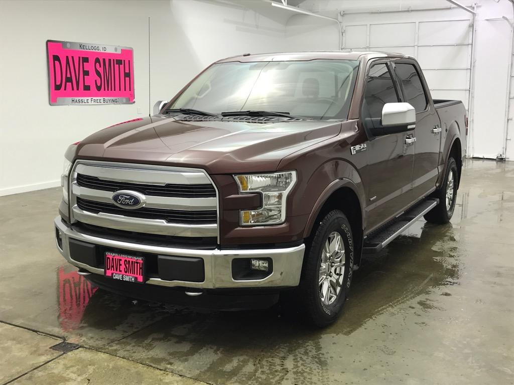 Pre-Owned 2016 Ford F-150 Lariat Crew Cab Short Box