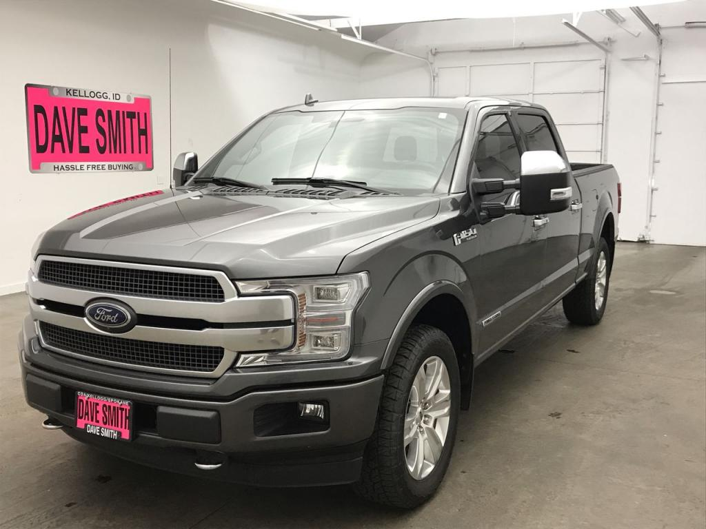 Pre-Owned 2018 Ford F-150 Crew Cab Short Box