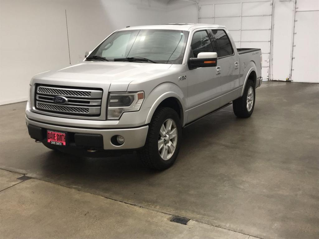 Pre-Owned 2014 Ford F-150 Limited Crew Cab Short Box