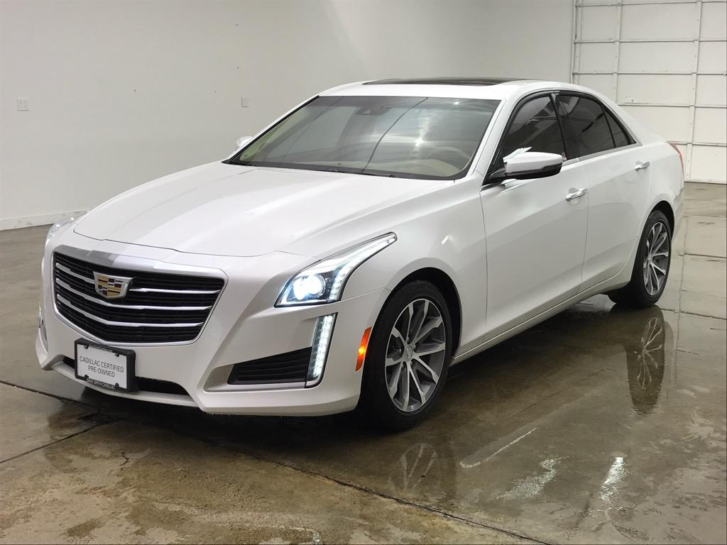 Pre Owned 2016 Cadillac Cts Luxury Collection Rwd