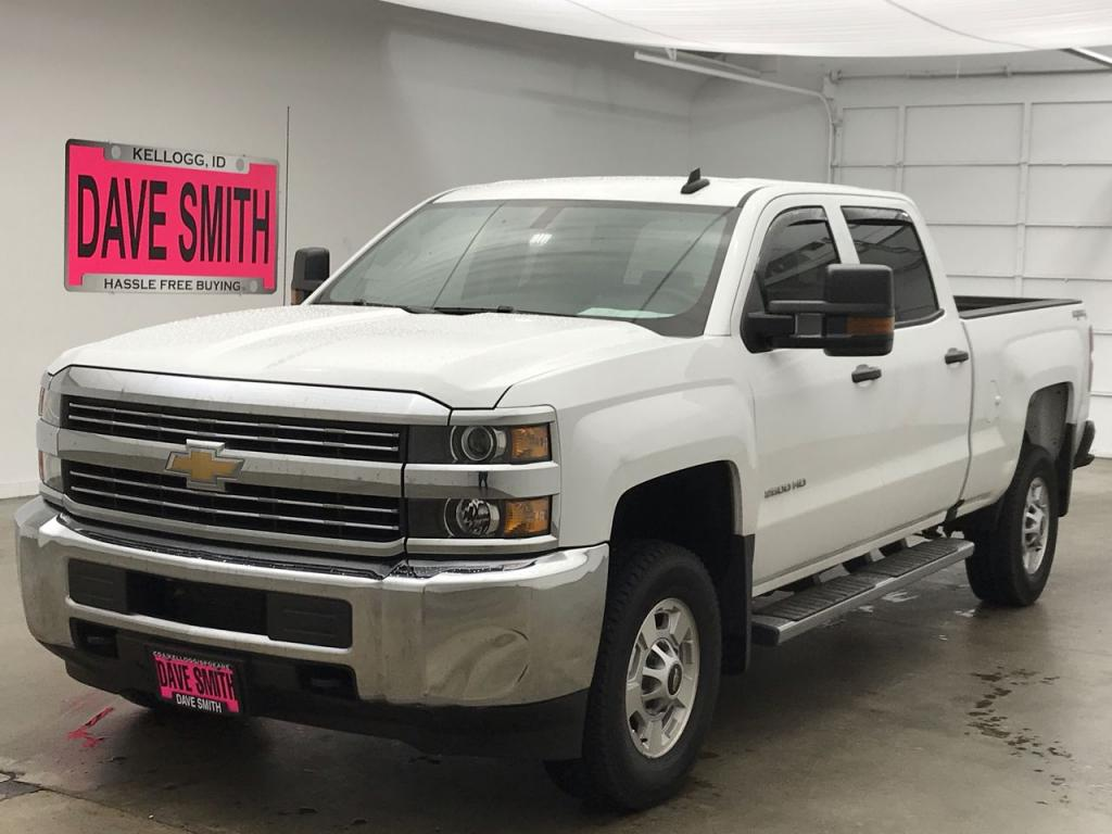 Pre-Owned 2016 Chevrolet Silverado 2500 Crew Cab Short Box
