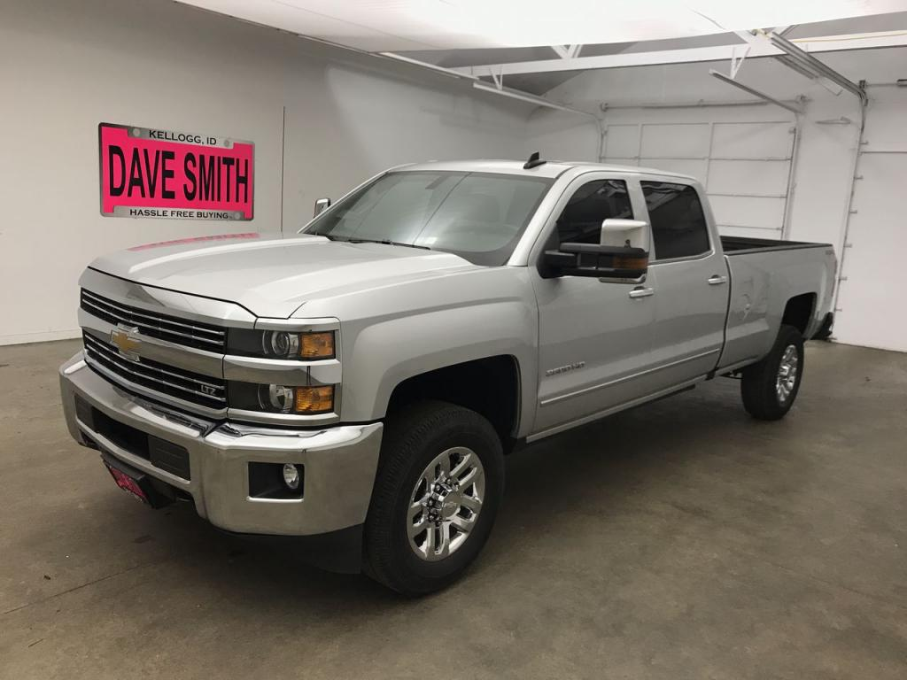 Pre-Owned 2018 Chevrolet Silverado 2500 LTZ Crew Cab Long Box