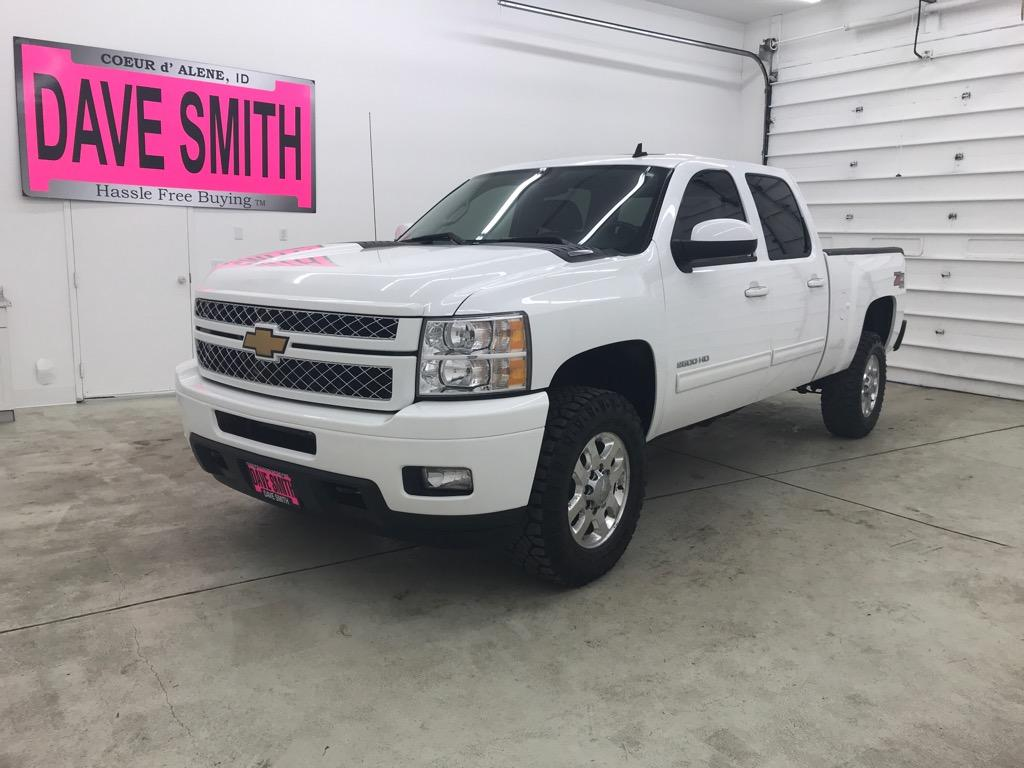 Pre-Owned 2014 Chevrolet Silverado 2500 LTZ Crew Cab Short Box