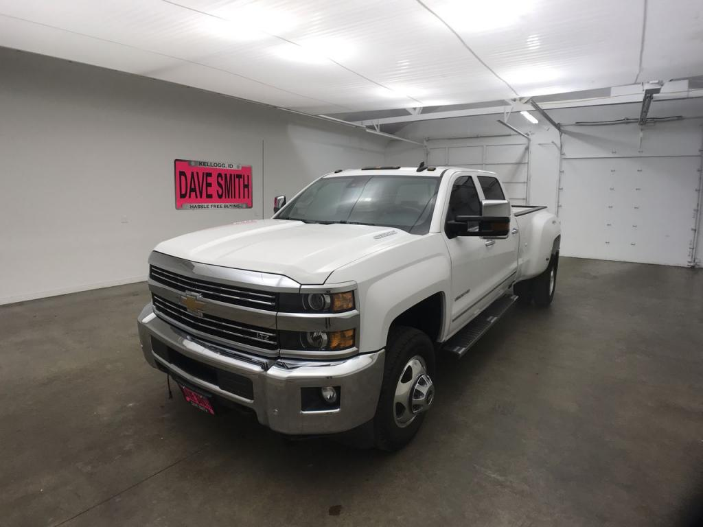 Pre-Owned 2015 Chevrolet Silverado 3500 LTZ Crew Cab Long Box