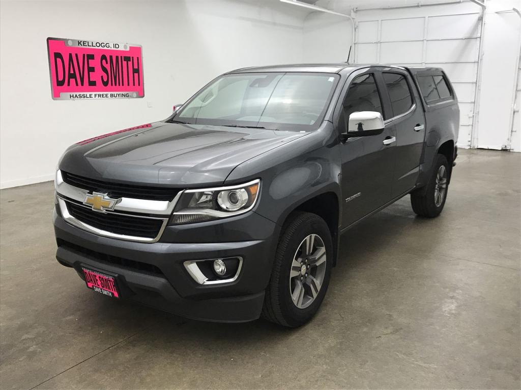 Pre-Owned 2016 Chevrolet Colorado LT Crew Cab Short Box