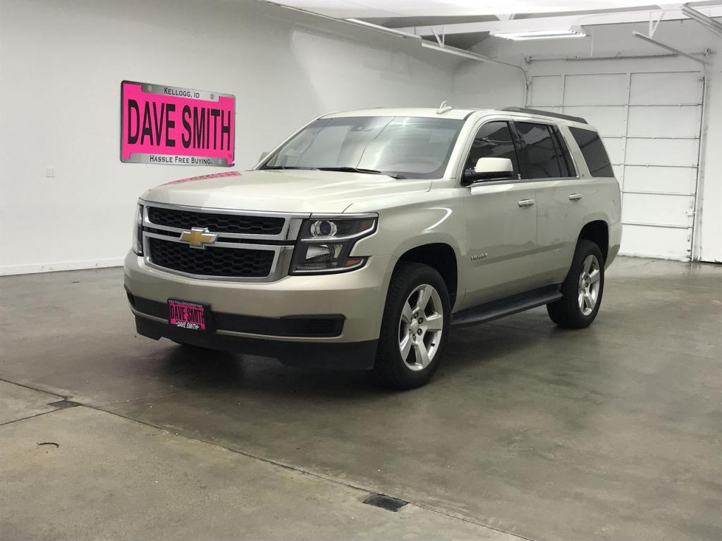 2015 Chevy Tahoe Chrome Roof Rack Pre Owned Chevrolet Lt 4wd 4dr In Coeur D Alene 83096xa