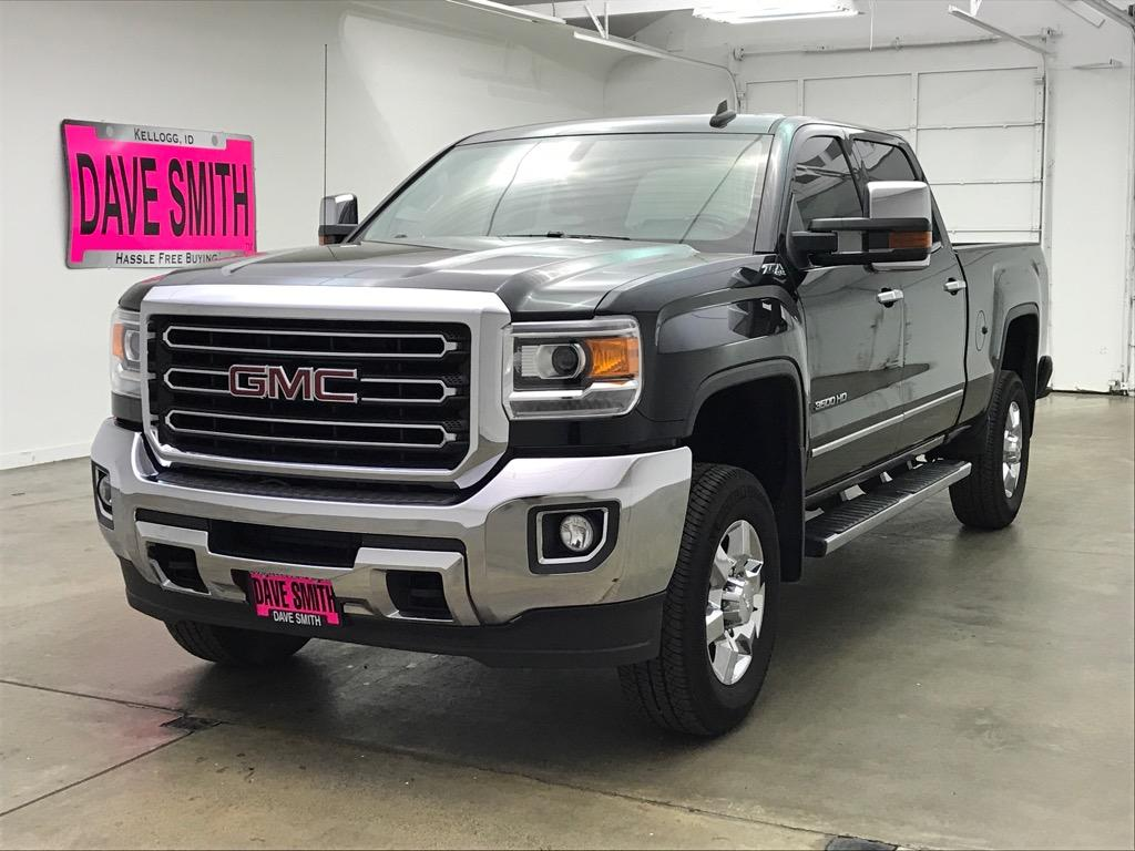 Pre-Owned 2016 GMC Sierra 3500 SLT Crew Cab Short Box