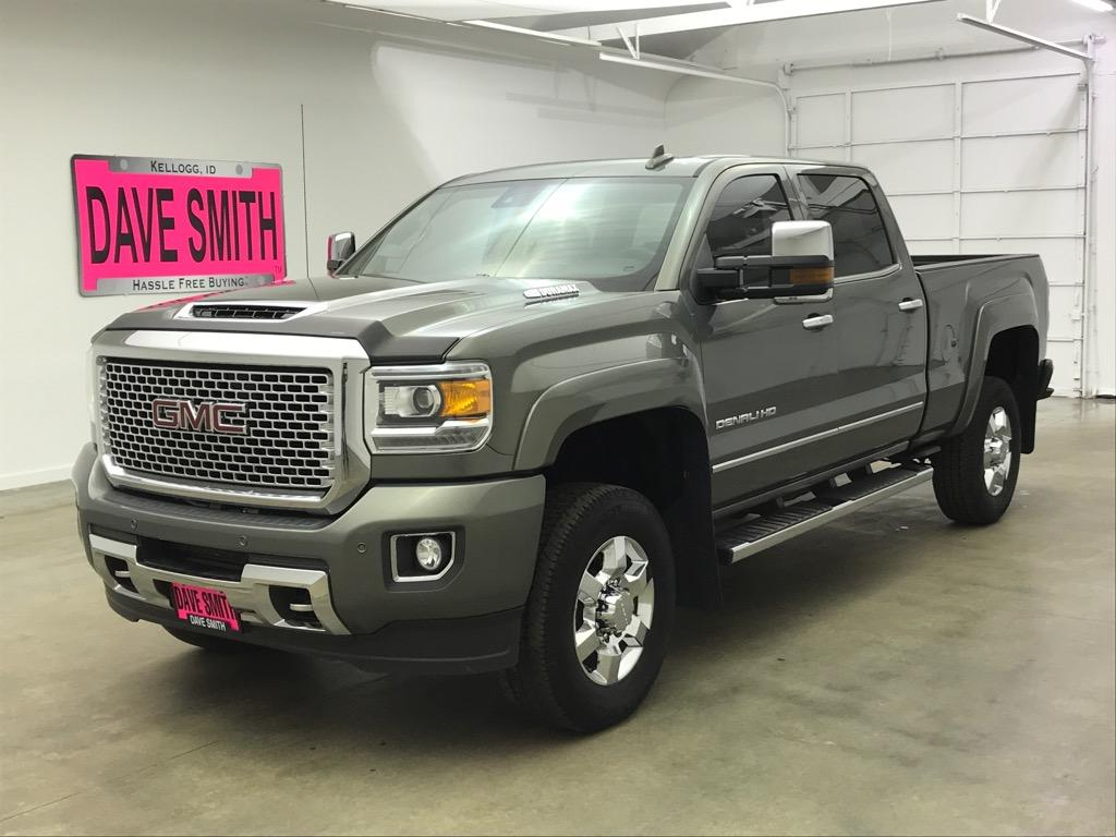 Pre Owned 2017 Gmc Sierra 3500 Denali Crew Cab Long Box