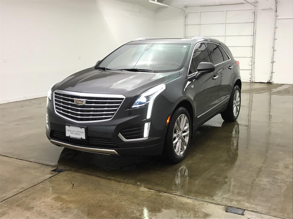 Pre Owned 2017 Cadillac Xt5 Platinum Awd 4dr In Coeur D Alene