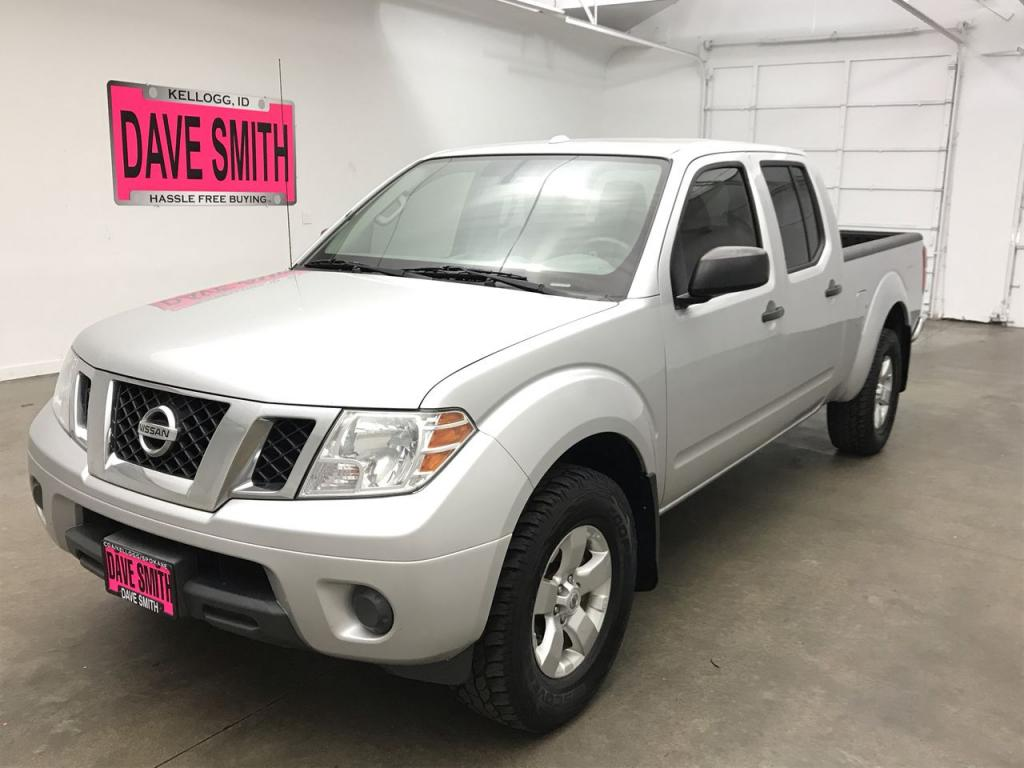 Pre-Owned 2012 Nissan Frontier SV Crew Cab Short Box