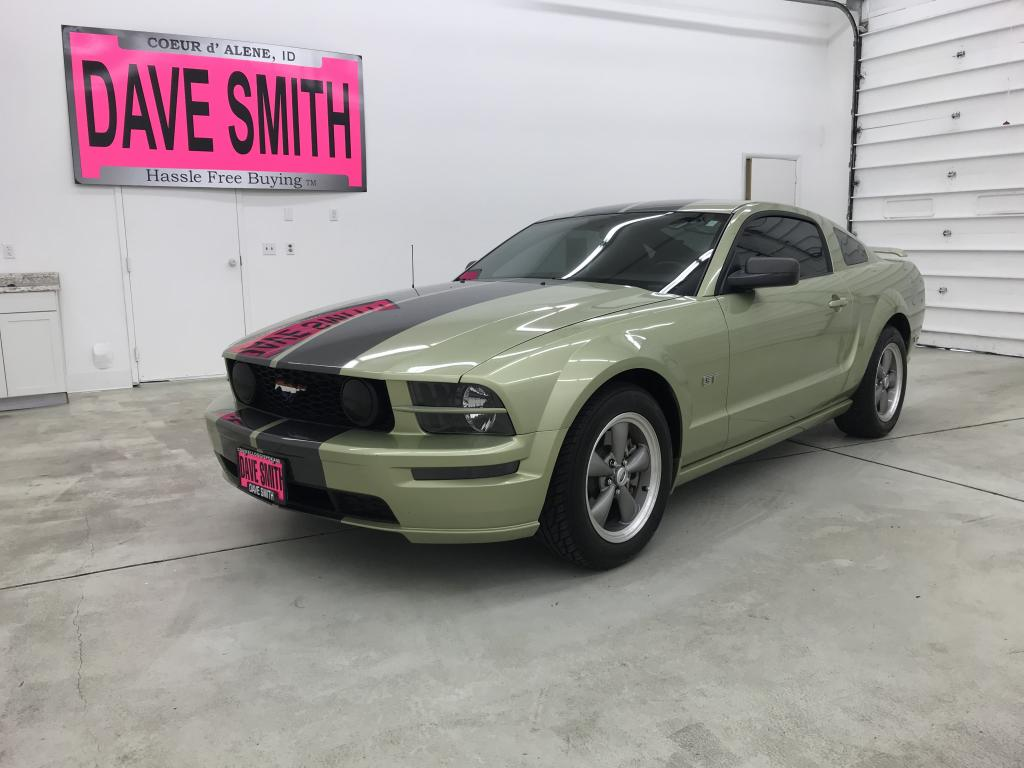 Pre owned 2006 ford mustang gt rwd 2 door coupe
