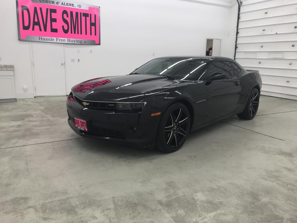 Camaro Rs 2015 >> Pre Owned 2015 Chevrolet Camaro Rs Rwd 2dr Cpe