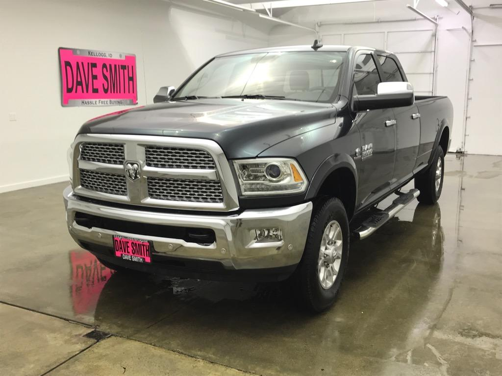 Pre-Owned 2018 Ram 3500 Laramie Crew Cab Long Box