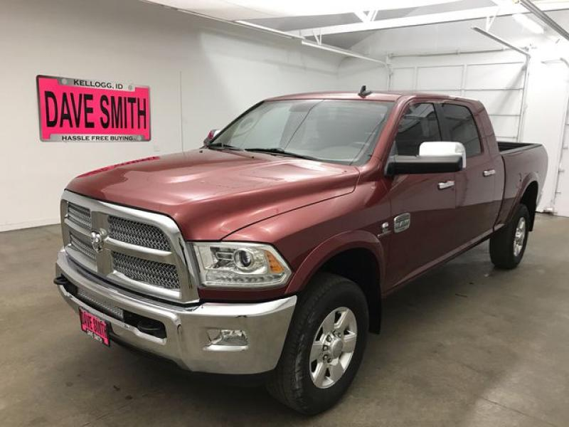 Pre-Owned 2014 Ram 3500 Longhorn Mega Cab Short Box