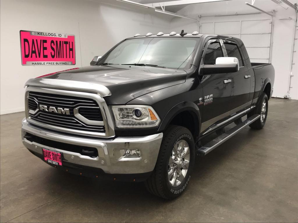 Pre-Owned 2018 Ram 3500 Longhorn Mega Cab Short Box