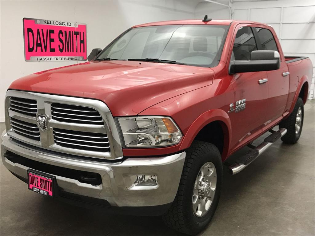 Pre-Owned 2018 Ram 2500 SLT Crew Cab Short Box