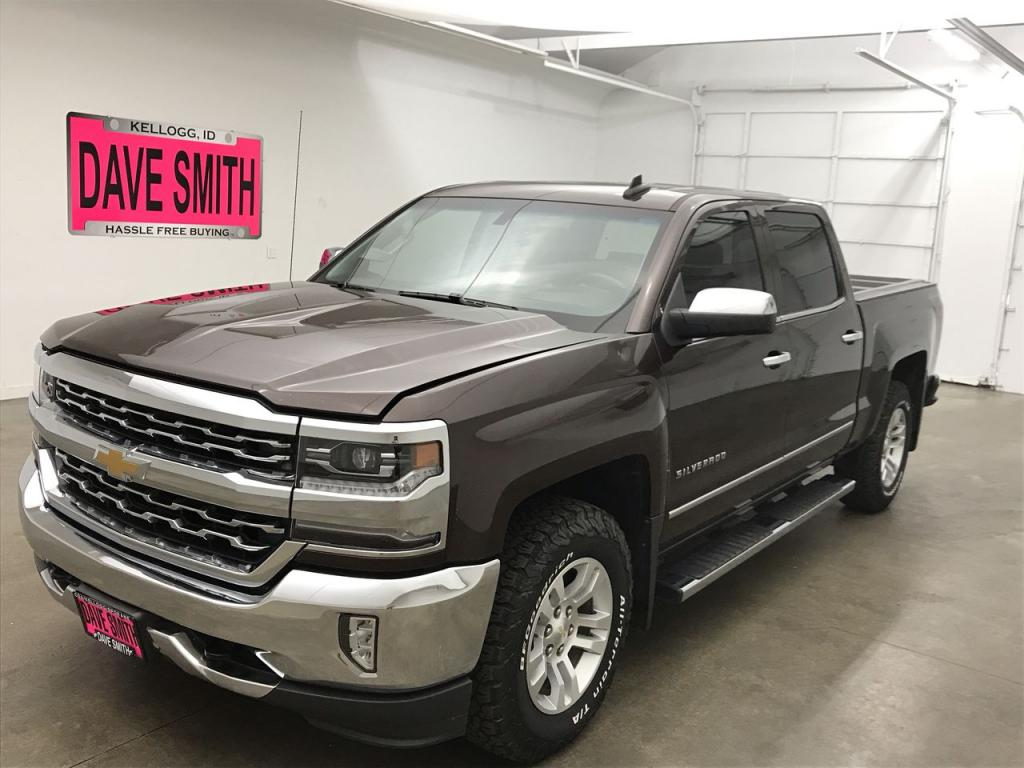 Pre-Owned 2016 Chevrolet Silverado 1500 LTZ Crew Cab Short Box