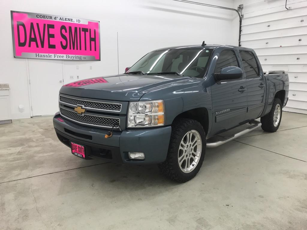 Pre-Owned 2013 Chevrolet Silverado 1500 LTZ Crew Cab Short Box
