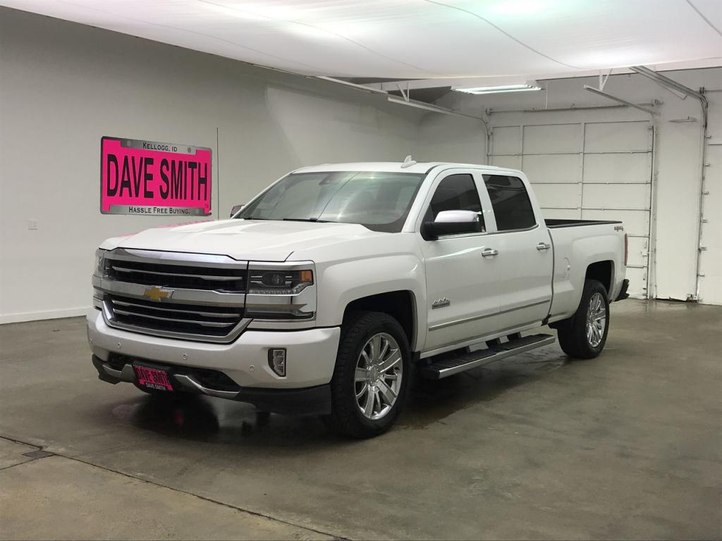 Pre Owned 2017 Chevrolet Silverado 1500 High Country Crew Cab Short