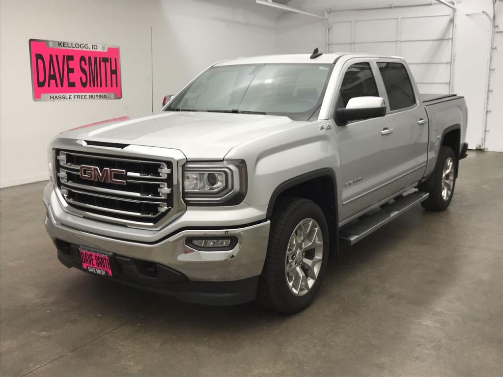 Pre-Owned 2018 GMC Sierra 1500 SLT Crew Cab Short Box