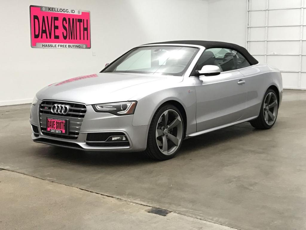 Pre-Owned 2015 Audi S5 Premium Plus Quattro