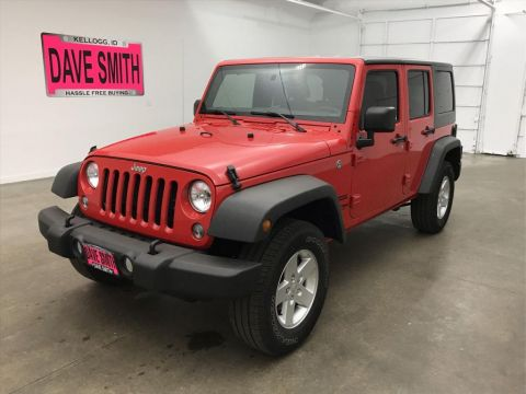 Pre-Owned 2018 Jeep Wrangler Unlimited JK Unlimited Sport