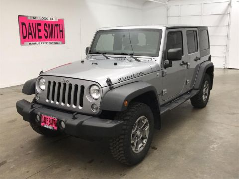 Pre-Owned 2014 Jeep Wrangler Unlimited Rubicon Unlimited