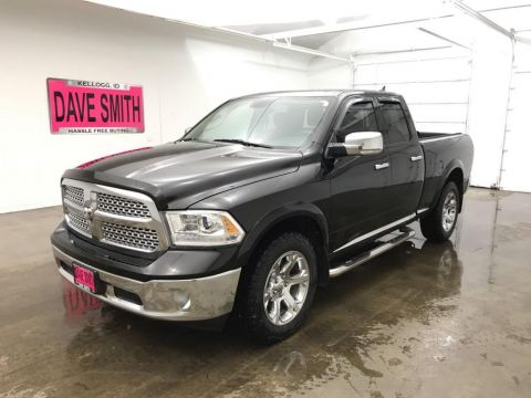 Pre-Owned 2013 Ram 1500 Laramie Quad Cab Short Box