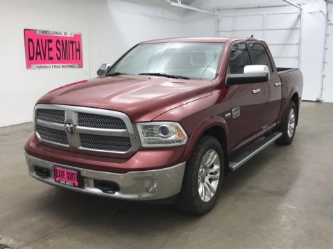 Pre-Owned 2015 Ram 1500 Laramie Longhorn Crew Cab Short Box