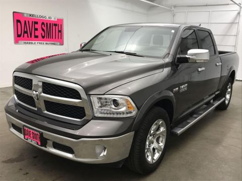 Pre-Owned 2017 Ram 1500 Laramie Crew Cab Short Box