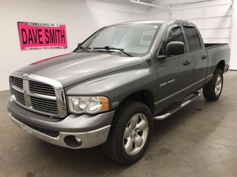 Pre-Owned 2005 Dodge Ram Pickup 1500 SLT Quad Cab Short Box