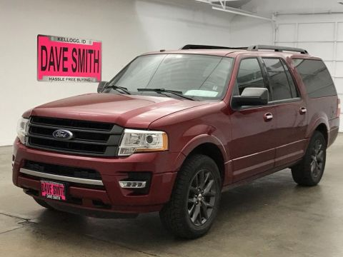 Pre-Owned 2017 Ford Expedition EL Limited