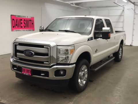 Pre-Owned 2016 Ford F-250 Super Duty Lariat Crew Cab Short Box