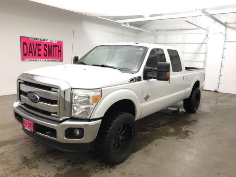 Pre-Owned 2015 Ford F-250 Super Duty Lariat Crew Cab Short Box