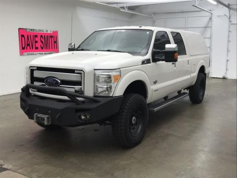 Pre-Owned 2016 Ford F-350 Super Duty King Ranch Crew Cab Short Box