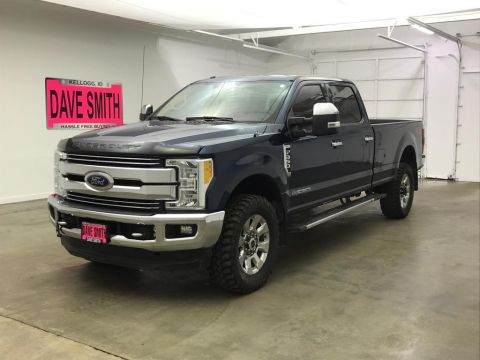 Pre-Owned 2017 Ford F-350 Super Duty Lariat Crew Cab Long Box