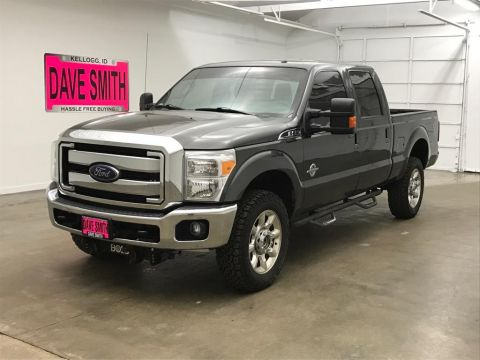 Pre-Owned 2016 Ford F-350 Super Duty Lariat Crew Cab Short Box