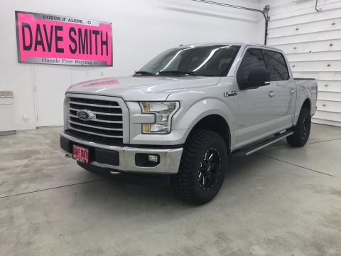 Pre-Owned 2015 Ford F-150 XLT Crew Cab Short Box