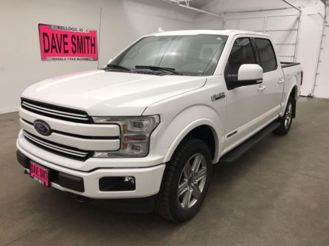 Pre-Owned 2018 Ford F-150 Lariat Crew Cab Short Box