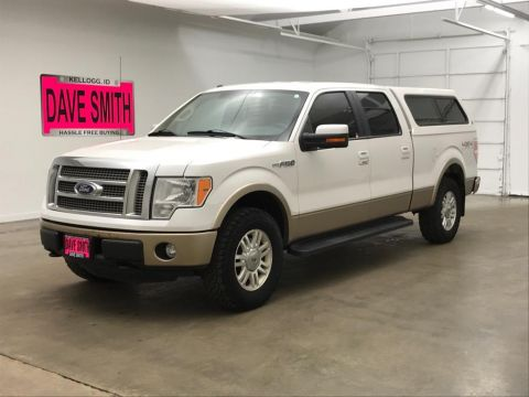 Pre-Owned 2011 Ford F-150 Lariat Crew Cab Short Box