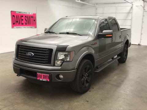 Pre-Owned 2012 Ford F-150 Crew Cab Short Box