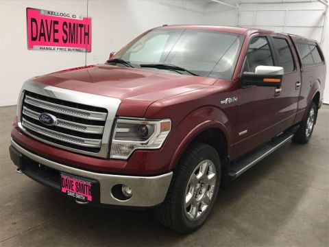 Pre-Owned 2014 Ford F-150 Lariat Crew Cab Short Box