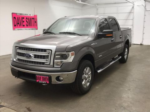 Pre-Owned 2014 Ford F-150 XLT Crew Cab Short Box