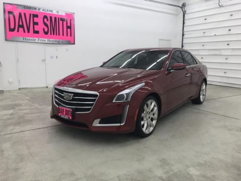 Pre-Owned 2016 Cadillac CTS Premium